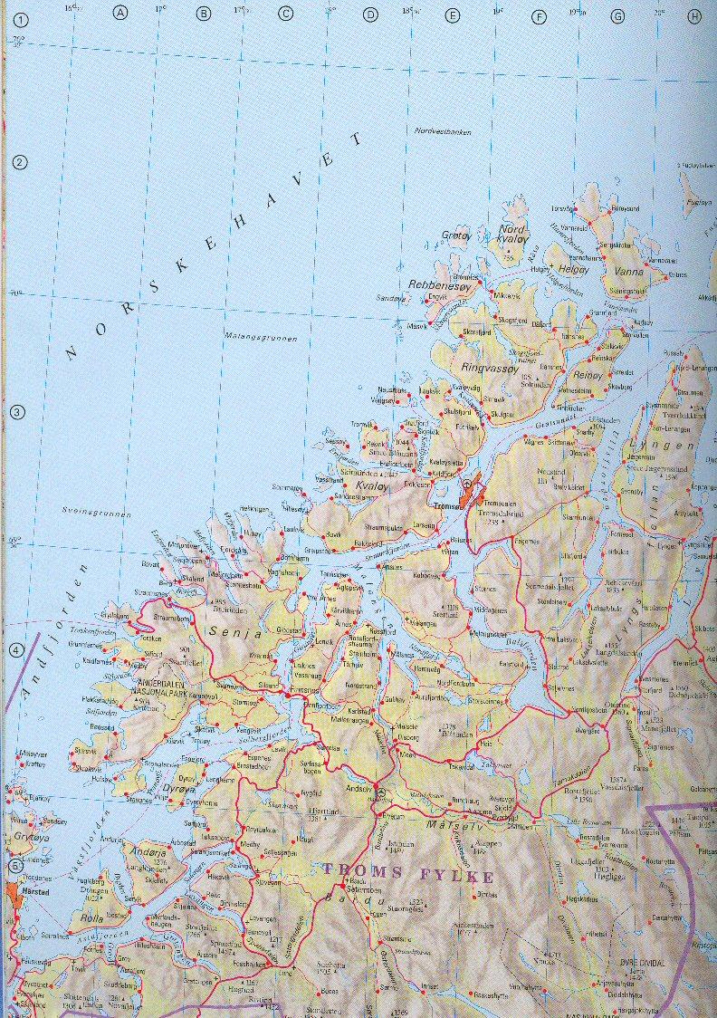 troms kart kart over troms fylke troms kart